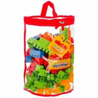 Be Toys Sac de 150 Blocs Briques de construction
