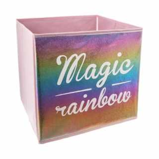 Bac de rangement Magic rainbow
