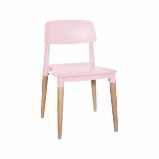 Chaise enfant design polypropylène Rose