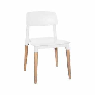 Chaise enfant design polypropylène Blanc
