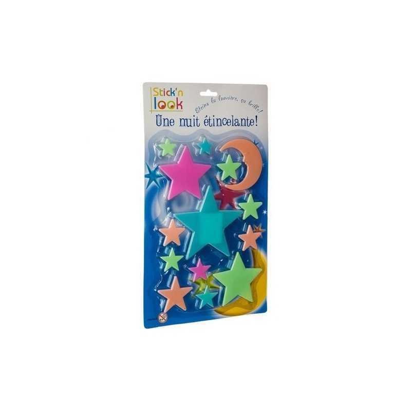 Etoiles phosphorescentes pour chambre enfant