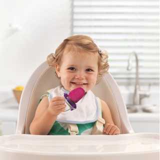 Anneau d'Alimentation bébé deluxe Rose
