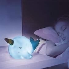 Veilleuse Baleine enfant Bleu