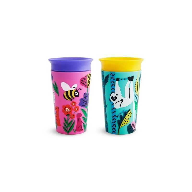 Lot de 2 tasses 266 ml Fille