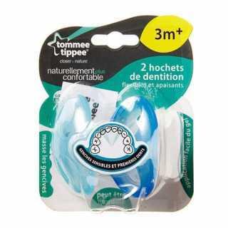 Lot de 2 Anneaux de Dentition Tommee Tippee - Bleu