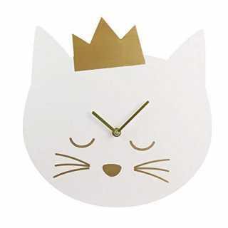 Horloge chambre enfant Chat