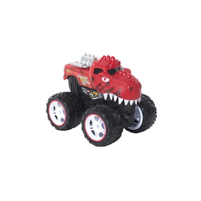Véhicule à friction monster truck Rouge
