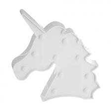 Veilleuse Tête de Licorne Led Blanc