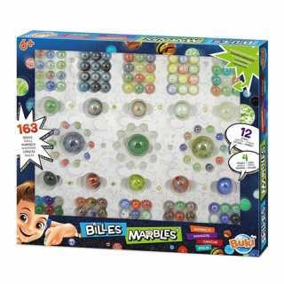 Coffret de billes 163 pieces