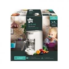 Robot mixeur cuiseur pour bébé blanc