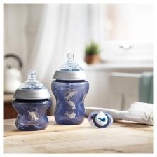 Starter kit de naissance biberons Bleu