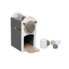 Machine à café en bois enfant
