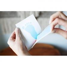 Tampon Encreur Clean Touch Bleu