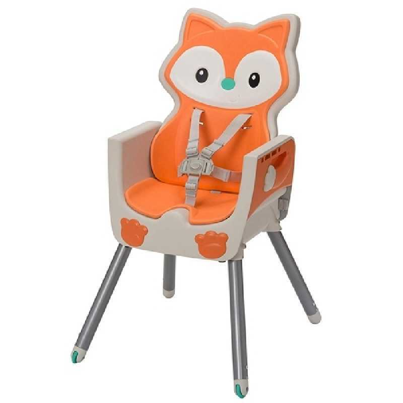 Chaise haute evolutive 3 en 1 Renard