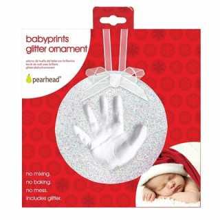 Empreinte de bebe Brillant Blanc