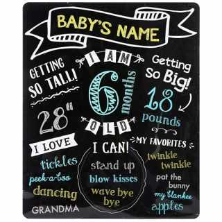 Tableau de partage de photos de bébé
