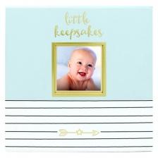 Boite à souvenir de bébé Bleu