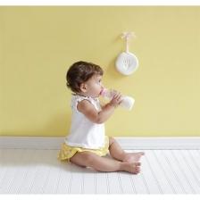 Souvenir empreinte de bébé Blanc