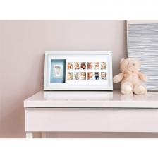 Cadre d'Empreinte avec 12 photos de bébé
