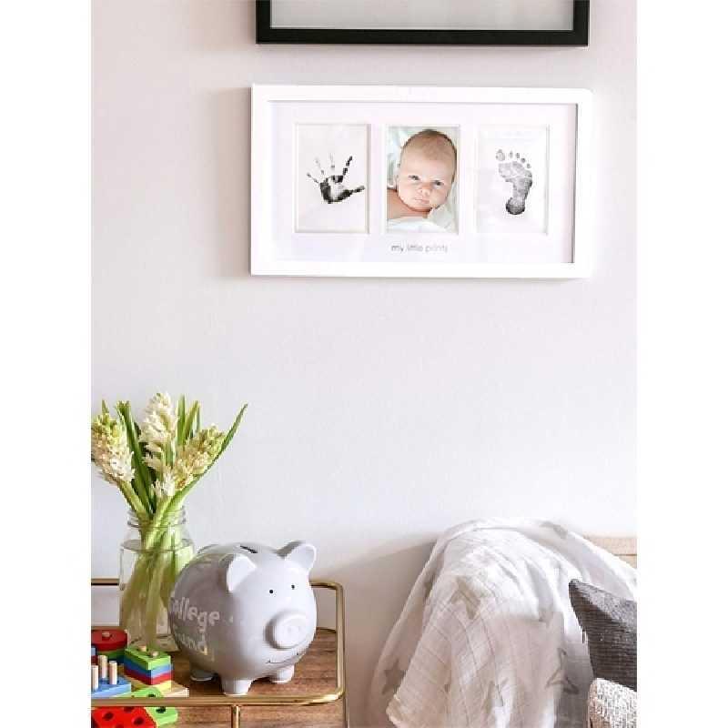 Kit de cadre photo avec un tampon d'encre