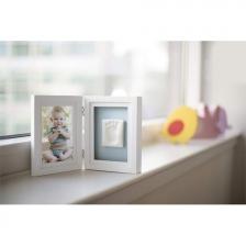 Cadre de bureau pour empreinte de bébé Blanc