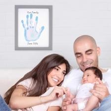 Cadre empreinte familiale