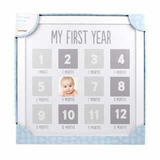 Cadre photo 12 premiers mois