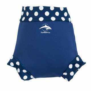 Culotte de bain bebe 4-7 kg Bleu Marine