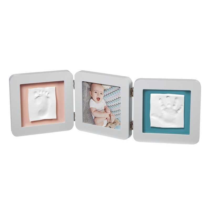 Cadre photo empreinte Baby Art Double Print Frame Pastel
