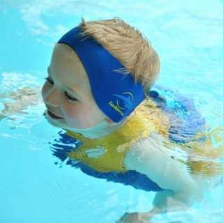 Bande protection pour oreilles enfant Bleu