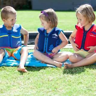 Veste de natation enfant Bleu 4-5 ans
