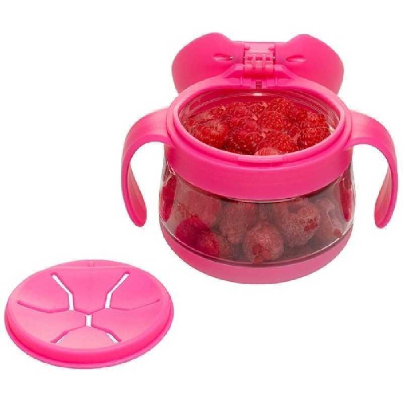 Boîte à gouter Rose 250 ml