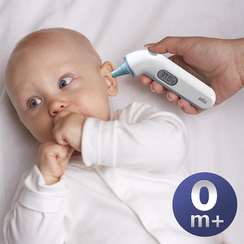 Thermomètre Thermoscan 3 avec indicateur sonore de fièvre