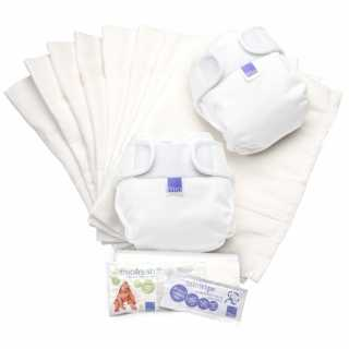 Lot de couches lavables MIOSOFT Blanc Taille 2