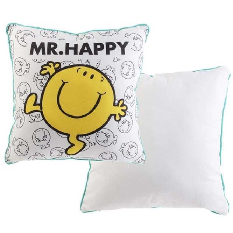 Coussin decoratif Mr Happy