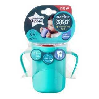 Tasse enfant 360 avec anses 200ml Vert 6m+