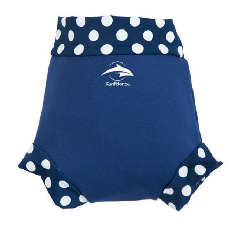 Culotte de bain bebe 6-9 kg Bleu Marine