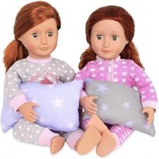Lit superposé pour poupée Blanc