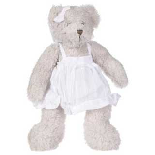 Peluche ourson fille Blanc...