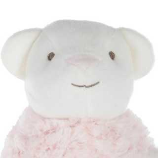 Peluche boule Ours Rose
