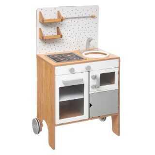 Cuisine enfant equipée en bois