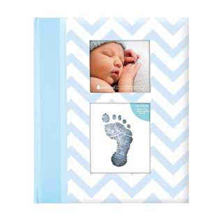 Livre de naissance bébé 2 en 1 Bleu