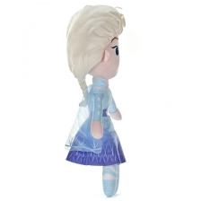 Poupee doux Elsa 50 cm Reine des neiges 2
