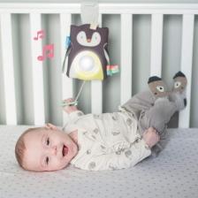 Jouet d'éveil Prince le pingouin bébé