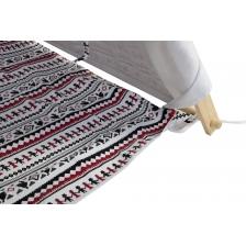 Tipi tente en coton et toile rouge