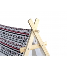 Tipi tente en coton et toile triangles