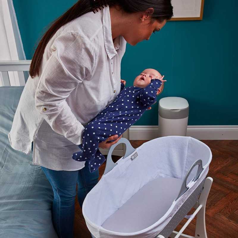 Tommee Tippee Kit Couffin Avec Support Sleepee Gris Taupe
