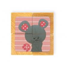 Janod Cubes En Bois Sophie La Girafe