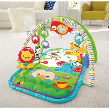 Fisher Price Tapis Amis de la Jungle 3en1