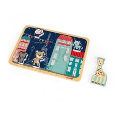 Janod Puzzle en Bois Sophie La Girafe